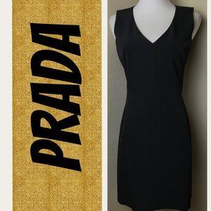 Authentic Prada Little Black Dress   Sz 40